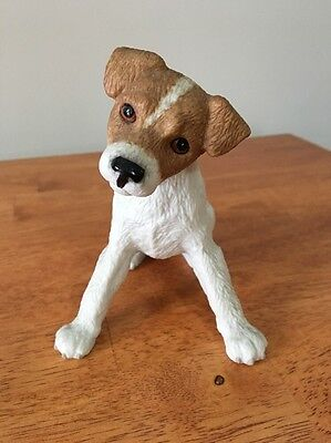 Lenox Jack Russell Terrier 2002 Figurine Puppy Dog Porcelain