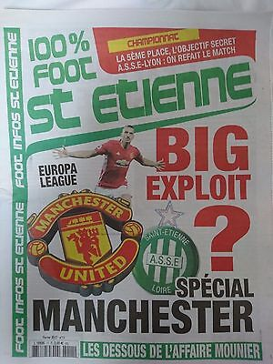 2016/17   St Etienne    v     Manchester United    24 Pages    MINT