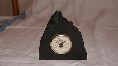 Free Standing Welsh Slate Thermometer