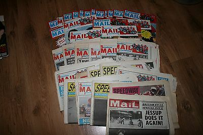 Large selection of  Speedway Mail magazines/papers