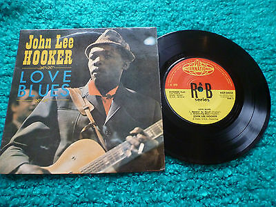 John Lee Hooker Love Blues Ep 1964 Pye International Nep 44034