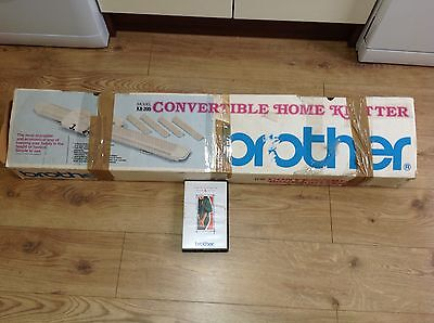 brother KX-395 convertible home knitter machine