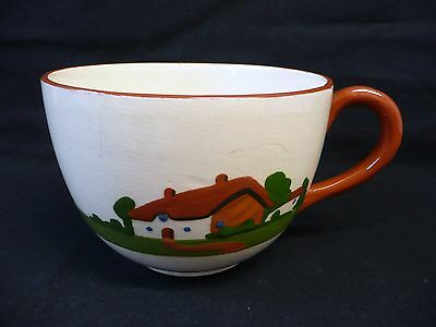 Vintage 'Motto Ware' -  Very Large Teacup.