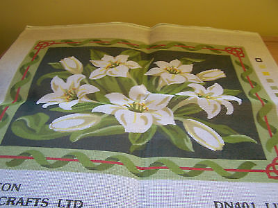 Tapestry Canvas Only 'Lilies'