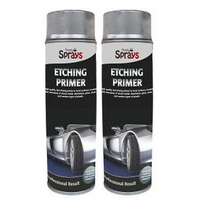 Simply Grey Etching Primer 2 Cans 500ml Spray Paint