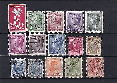 timbres luxembourg stamps luxembourgeois luxembourgois