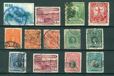 timbres perou  stamps peru