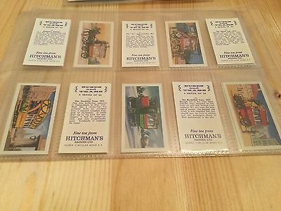 Full Set Of Tea Cards - Hitchmans Dairies Tea - Buses And Trams