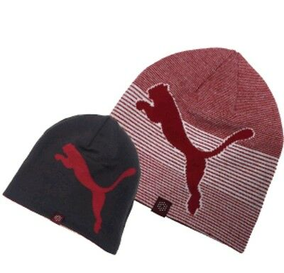 Mens Puma Winter Beanie Golf Hat. Reversible. 2 In 1. One Size. **brand New**