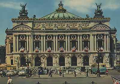 Old Postcard: L' Opera, Paris, France.