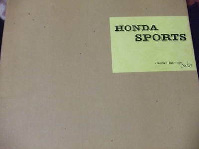 Honda Sports Memorial book S500 S600 S800 M tuning engine detail coupe restore