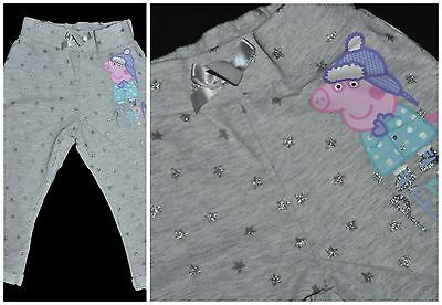 Peppa Pig Baby Girl Nursery Pants Sweatpants Trousers 12-18 Months Cotton Mix