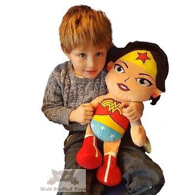 Huge Giant Extra Large DC Comics Wonder Woman Soft Toy Plush 20""