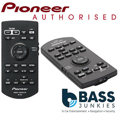 Pioneer CD-R33 AVH Hand Held Style Car Stereo Radio Remote Control Controller