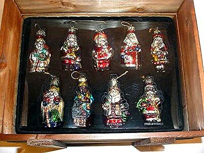 Thomas Pacconi 2002  Classic Christmas Ornaments - Around The World! In Box!