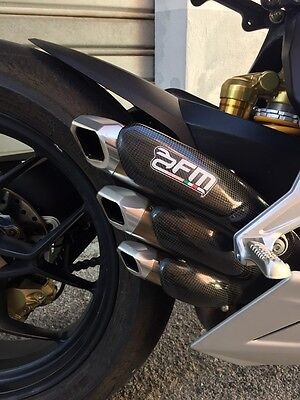 Scarico exhaust fm projects Mv Agusta F3