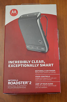 Motorola Roadster 2, Universal Bluetooth In Car Speakerphone