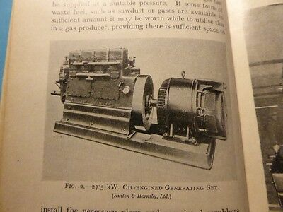 1942 Stationary Engines Generators Petter Stuart Ruston Hornsby Lister +Systems