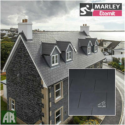 Marley Thrutone | Fibre Cement Roof  Slates | Roof Tiles | 600 x 300mm