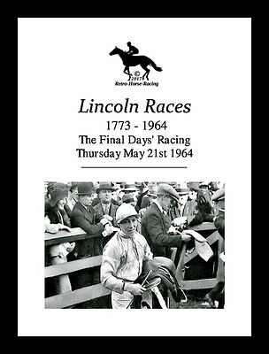 Horse Racing Collectors Race Card - Lincoln Races Final Day