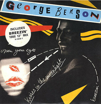 "George Benson Kisses In The Moonlight UK 12"" vinyl single record (Maxi) W8640T"