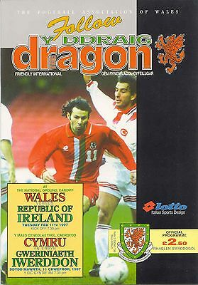 1997 Wales v Republic of Ireland (Friendly)