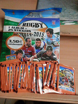 album panini rugby 2014 neuf + 55 paquettes neuf