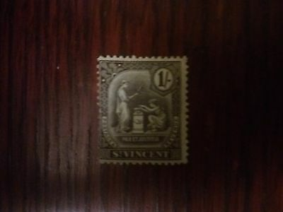 St. Vincent early MM 1 shilling
