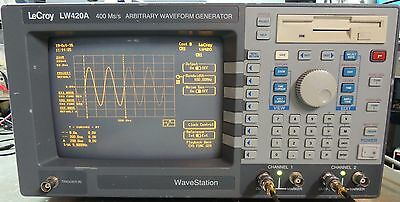 LeCroy LW420A 400Ms/s Wavestation Arbtrary waveform generator. tested, working.