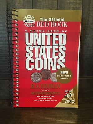 Whitman The Official Red Book! A Guide Book Of United States Coins! 55TH Edition