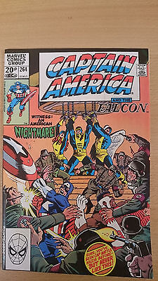 Marvel Comics Captain America #264 December 1981 VF+ first print