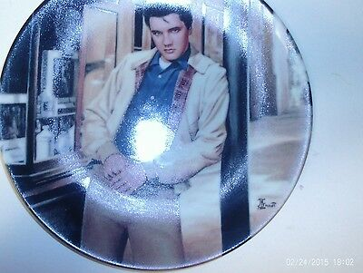 """Elvis Presley """"the King Of Creole"""" Collector Plate"""