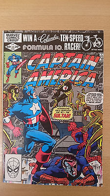 Marvel Comics Captain America #265 January 1982 Near Mint first print