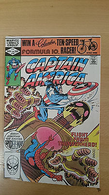 Marvel Comics Captain America #266 February 1982 VF/NM first print