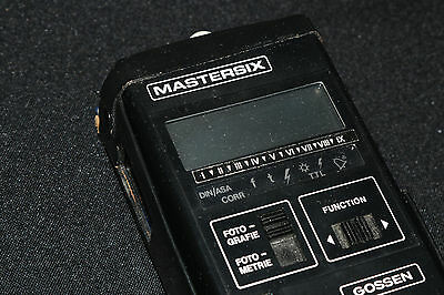 Gossen Mastersix / Ultra-Pro Incident, Reflected and Flash Lightmeter