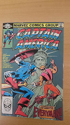 Marvel Comics Captain America #267 March 1982 VF first print