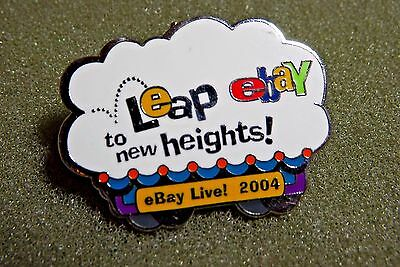 Leap To New Heights ebay Lapel Pin eBay Live! 2004  New Orleans Seldom Seen Pin