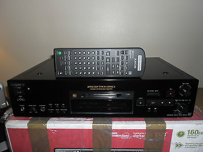 Sony Mds-Jb940 Minidisc Separate Player/recorder In Black. Qs Range/hi End Deck