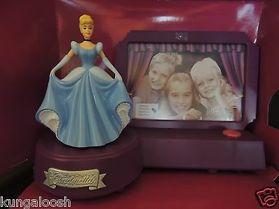 Disney Cinderella Animated Talking Picture Frame, New in box.