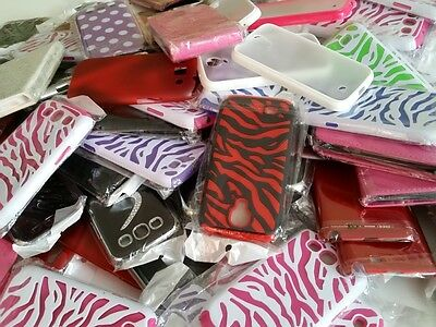 Wholesale lot of 50 Various Mixed Cell Phone Cases for Samsung !!!