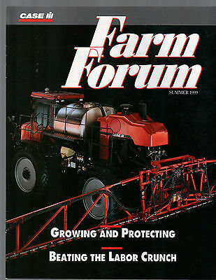 Summer 1999 Farm Forum Case International Tractor Magazine Brochure