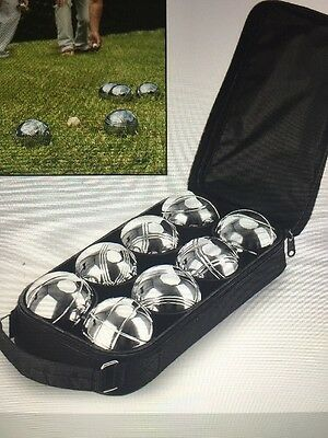 Heavy Steel French Boules Pétanque Ball Set