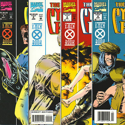 The Adventures of Cyclops and Phoenix #1-4 Complete Set (1994) NM Marvel