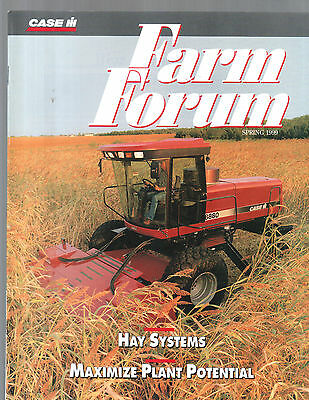 Spring 1999 Farm Forum Case International Tractor Magazine Brochure