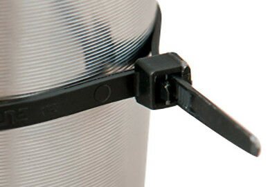 Cable Ties Uk Made* Black & Natural Strong Cable Zip Tie Wraps - All Sizes