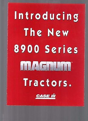 1996 Case International Magnum Tractors 9800 Series Tractor Brochure