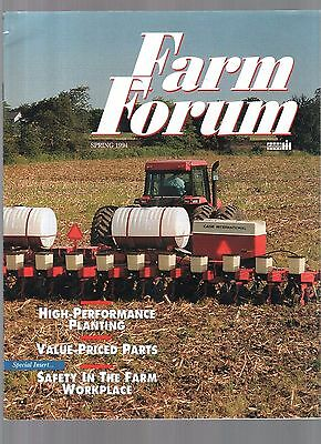 1994 Case Ih  International Tractor & Equipment Farm Forum Magazine Brochure