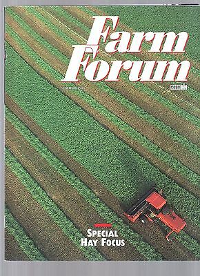 1993 Case Ih  International Tractor & Equipment Farm Forum Magazine Brochure