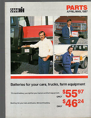 April May 1987 Ih International Tractor Parts Brochure Catalog