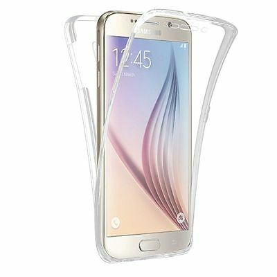 Shockproof 360° Silicone Protective Clear Case Cover For Samsung Galaxy S6 (32)
